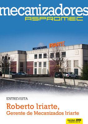 Revista Mecanizadores Aspromec 28. Enero 2016
