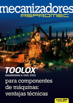 Revista Mecanizadores Aspromec 24. Julio 2015