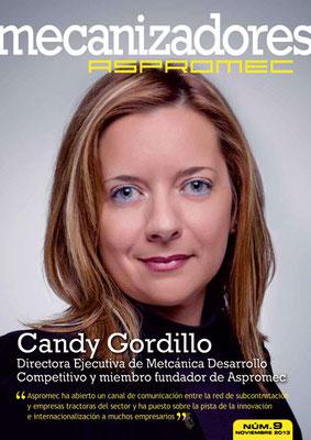 Revista Mecanizadores Aspromec 9. Noviembre 2013