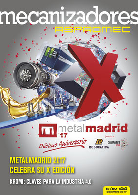 Revista Mecanizadores Aspromec 44. Diciembre 2017