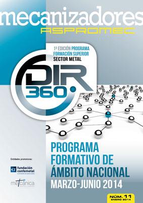 Revista Mecanizadores Aspromec 11. Enero 2014