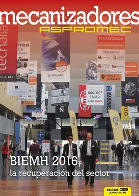 Revista Mecanizadores Aspromec 32. Junio 2016