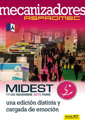 Revista Mecanizadores Aspromec 27. Noviembre 2015