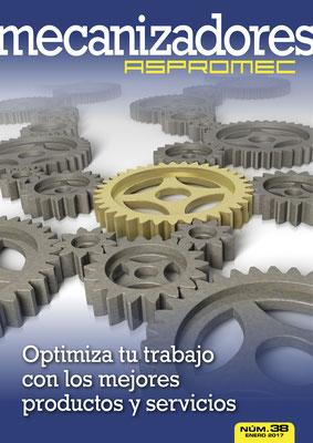 Revista Mecanizadores Aspromec 38. Enero 2017
