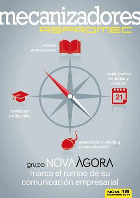 Revista Mecanizadores Aspromec 18. Desembre 2014