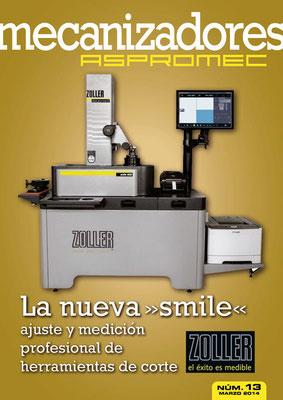 Revista Mecanizadores Aspromec 13. Marzo 2014