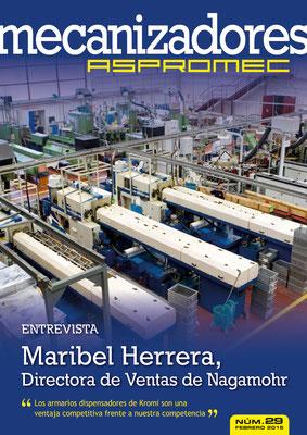 Revista Mecanizadores Aspromec 29. Febrero 2016