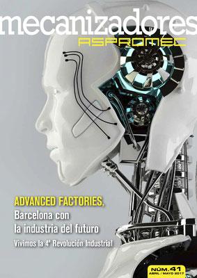 Revista Mecanizadores Aspromec 41. Abril / Mayo 2017