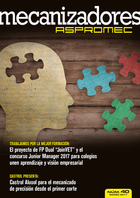 Revista Mecanizadores Aspromec 40. Marzo 2017