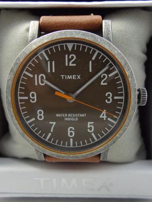 [タイメックス] TIMEX クラッシック ラウンド インディグロ®ナイトライト Ref T2P507
