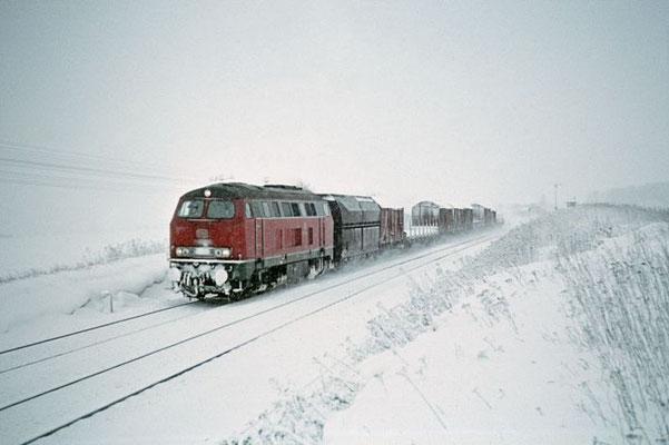 Diesellok 216 bei Peine 1970  I  Copyright by Stiftung Eisenbahn Archiv Braunschweig