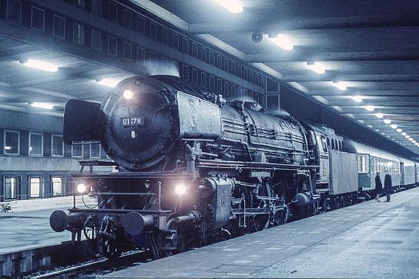 Braunschweig Hbf 1966  I  Copyright by Stiftung Eisenbahn Archiv Braunschweig