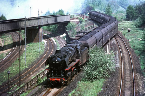 Kohlezug, Brg Rangierbahnhof 1969  I  Copyright by Stiftung Eisenbahn Archiv Braunschweig