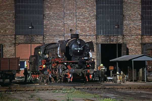 Ausbesserungswerk Brg 1971  I  Copyright by Stiftung Eisenbahn Archiv Braunschweig