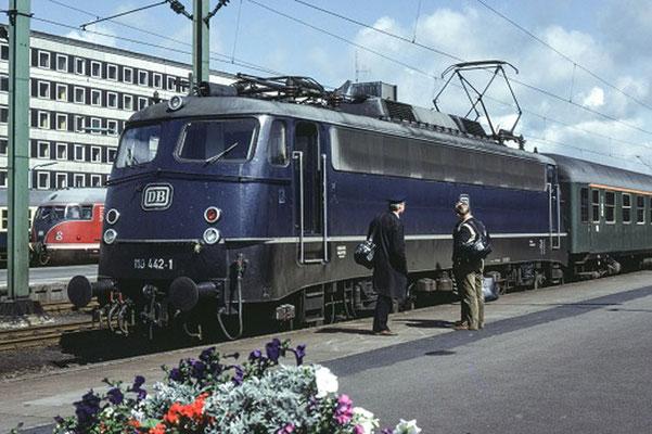 Braunschweig Hbf 1981  I  Copyright: Eisenbahn Archiv Braunschweig