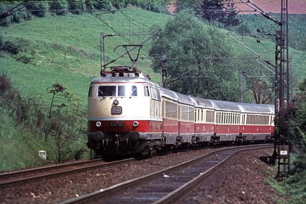 Bebenroth-Tunnel bei Eichenberg 196?  I  Copyright by Stiftung Eisenbahn Archiv Braunschweig