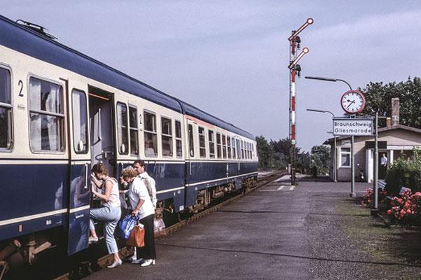 Gliesmarode 1985  I  Copyright: Eisenbahn Archiv Braunschweig