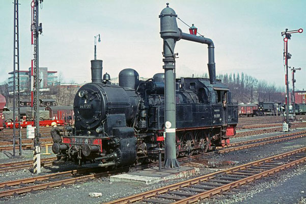 Rangierlok, Brg-Rbf 1967  I  Copyright by Stiftung Eisenbahn Archiv Braunschweig