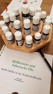 Heilkräuter & äth. Öle - Sanfte Helfer in der Kinderheilkunde 23.11.18