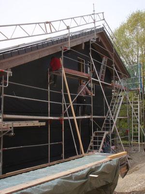 Die Vorbereitungen auf den Bau-Schau-Tag am 10.5. laufen auf Hochtouren.