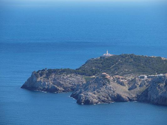 Punta de Capdepera - Leuchtturm von Cala Ratjada