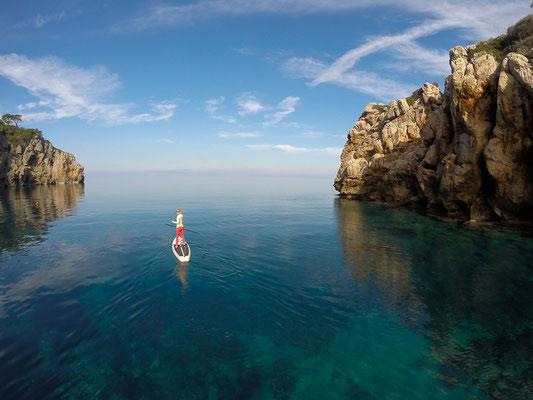 SUP Mallorca, aktiv reise
