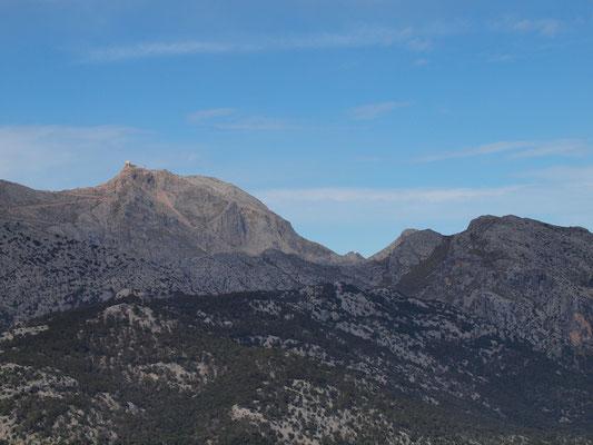 Puig Major, höchster Berg Mallorcas (1445m)