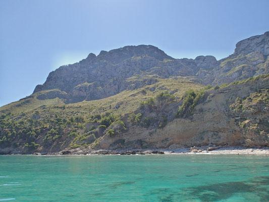 Serres de Llevant - aus Sicht der Bucht von  Alcudia