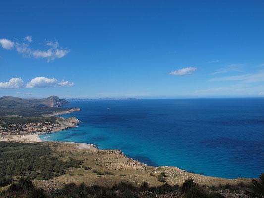 Cala Mesquida und Cap Formentor