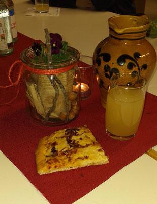 Zwiebelkuchen + Neuer Süßer