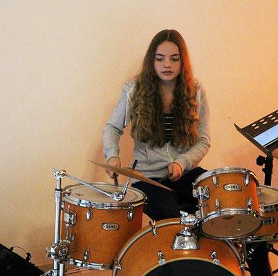 Die Drummerin