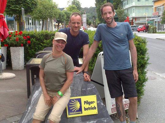 Mario, Michaela und Christoph aus Graz, Steiermark