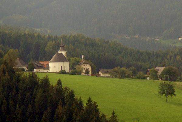 Die Kirche von Modriach
