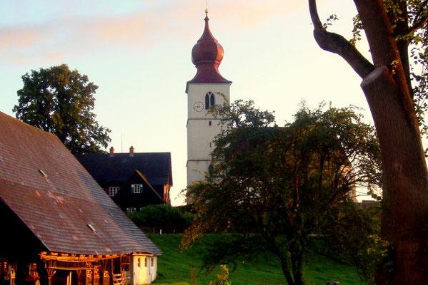 Die Kirche von Osterwitz
