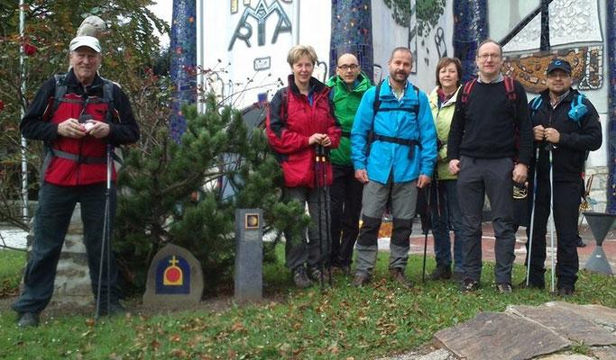 Eine Pilgergruppe aus Ligist, Steiermark