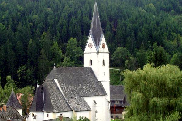 Die Jakobskirche in Geistthal