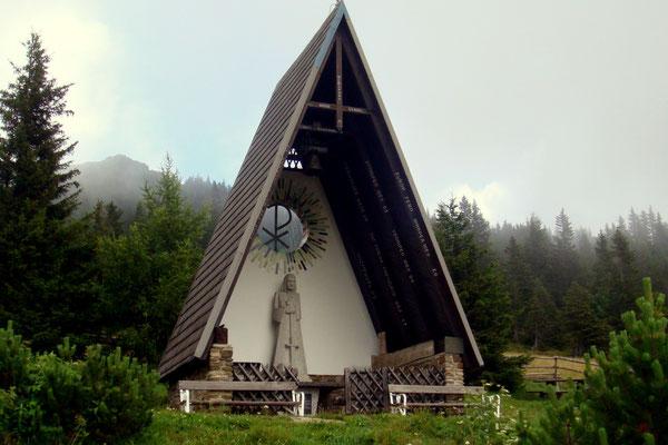 Die Pauluskapelle auf der Weinebene