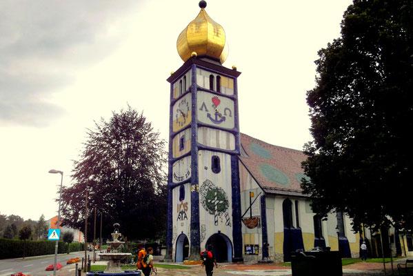 Die St. Barbarakirche in Bärnbach
