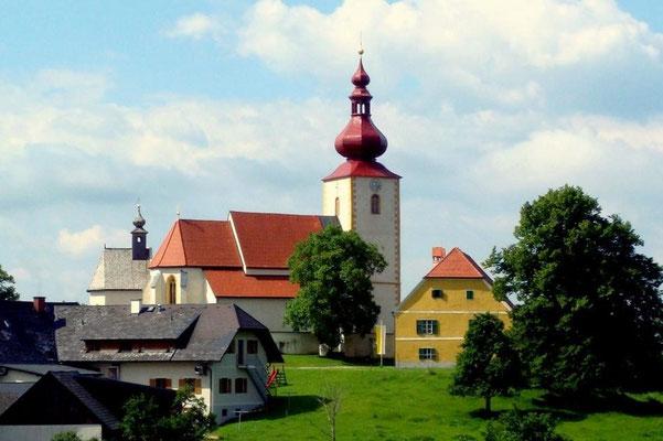 Die Kirche von St. Pankrazen
