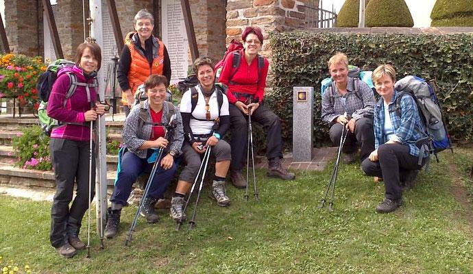 Eine Pilgergruppe aus Hohenau an der Raab, Steiermark