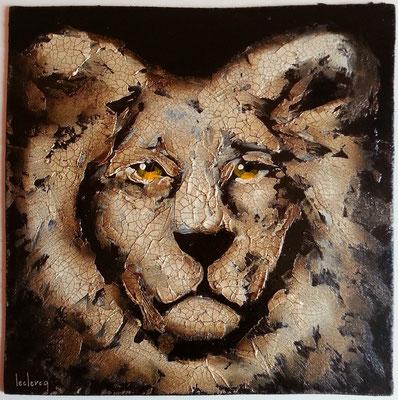 Lionesque 30x30 cm