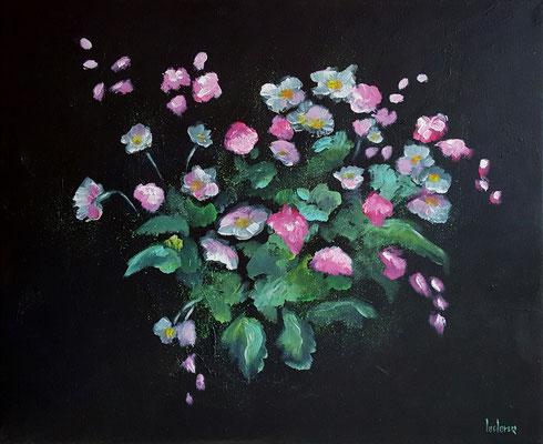 50x61 Fleurs d'Eve