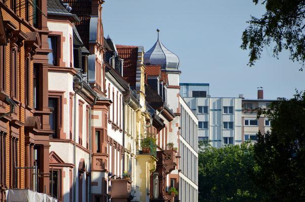 Häuserfassade der Altstadt.