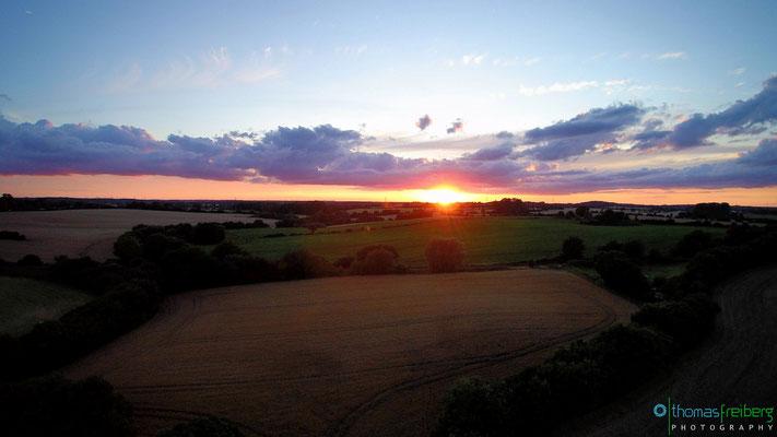 Sonnenuntergang in Hemmelsdorf