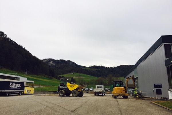 Lagererweiterung Mineralquelle Eptingen AG in Eptingen