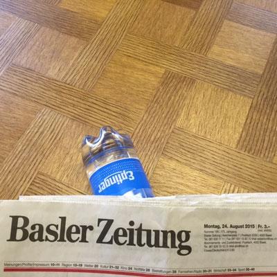 Eptinger mit Basler Zeitung