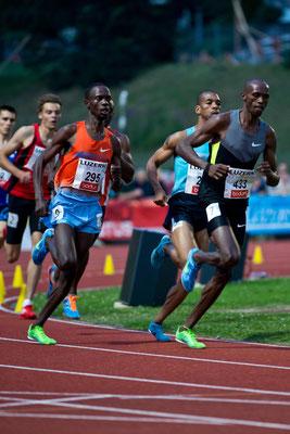 Mittelstrecken-Läufer