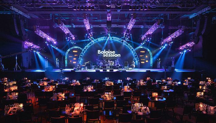 Baloise Session Konzertsaal