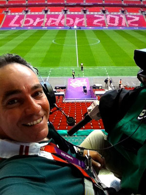 Olympic Football, Wembley 2012
