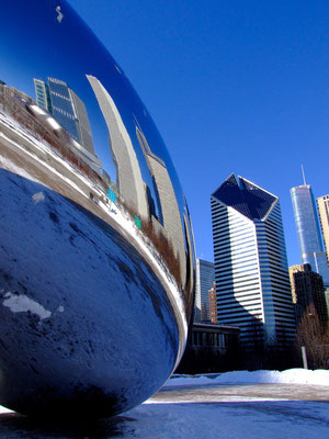 Chicago Anish Kapoor Sculpture
